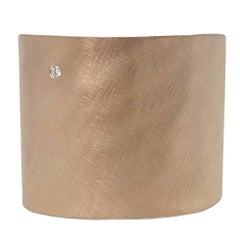 Julez Bryant Extra Wide Rose Gold Cuff