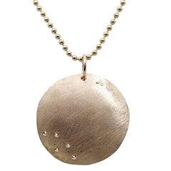 Julez Bryant Concave Rose Gold Necklace