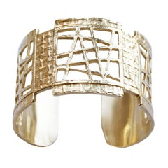 Joan Hornig Gold Avenue Cuff Bracelet