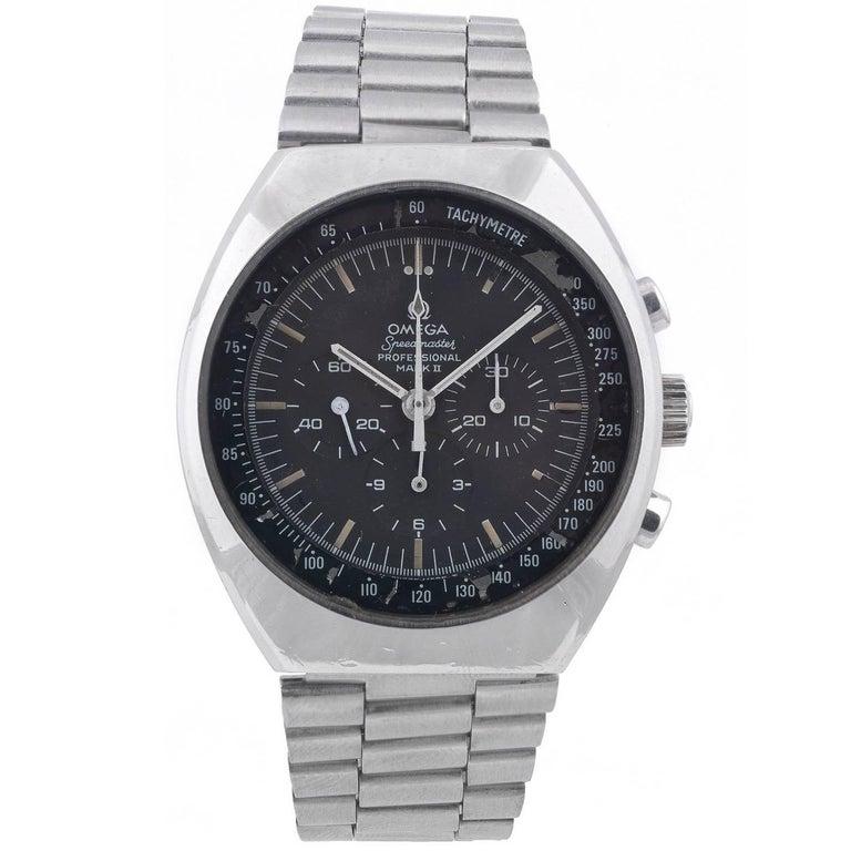 Omega Stainless Steel Speedmaster Professional Mark II Wristwatch
