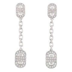 Bulgari Diamond Parentesi Earrings