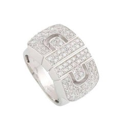 Bulgari Diamond Parentesi Revolution Ring