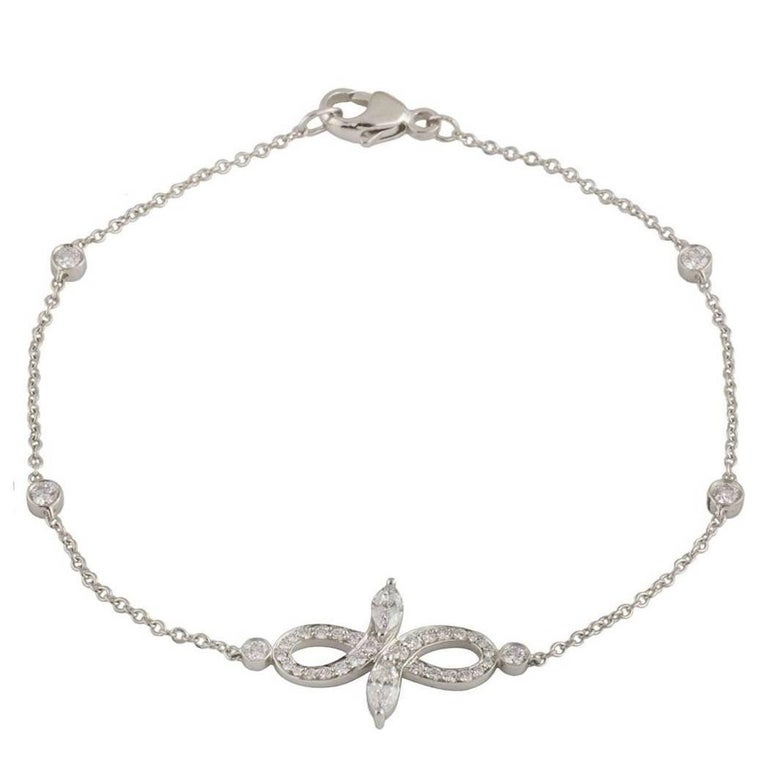 Tiffany & Co. Diamond Victoria Bracelet