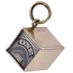 "Tiffany & Co.  Gold ""Emergency Money"" Charm"