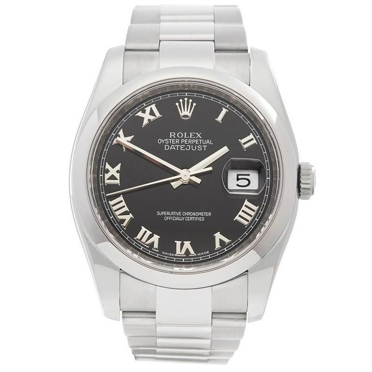 Rolex Datejust Stainless Steel Gents 116200