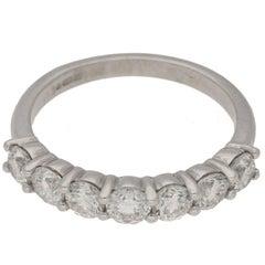 Seven-Stone Diamond Engagement Ring