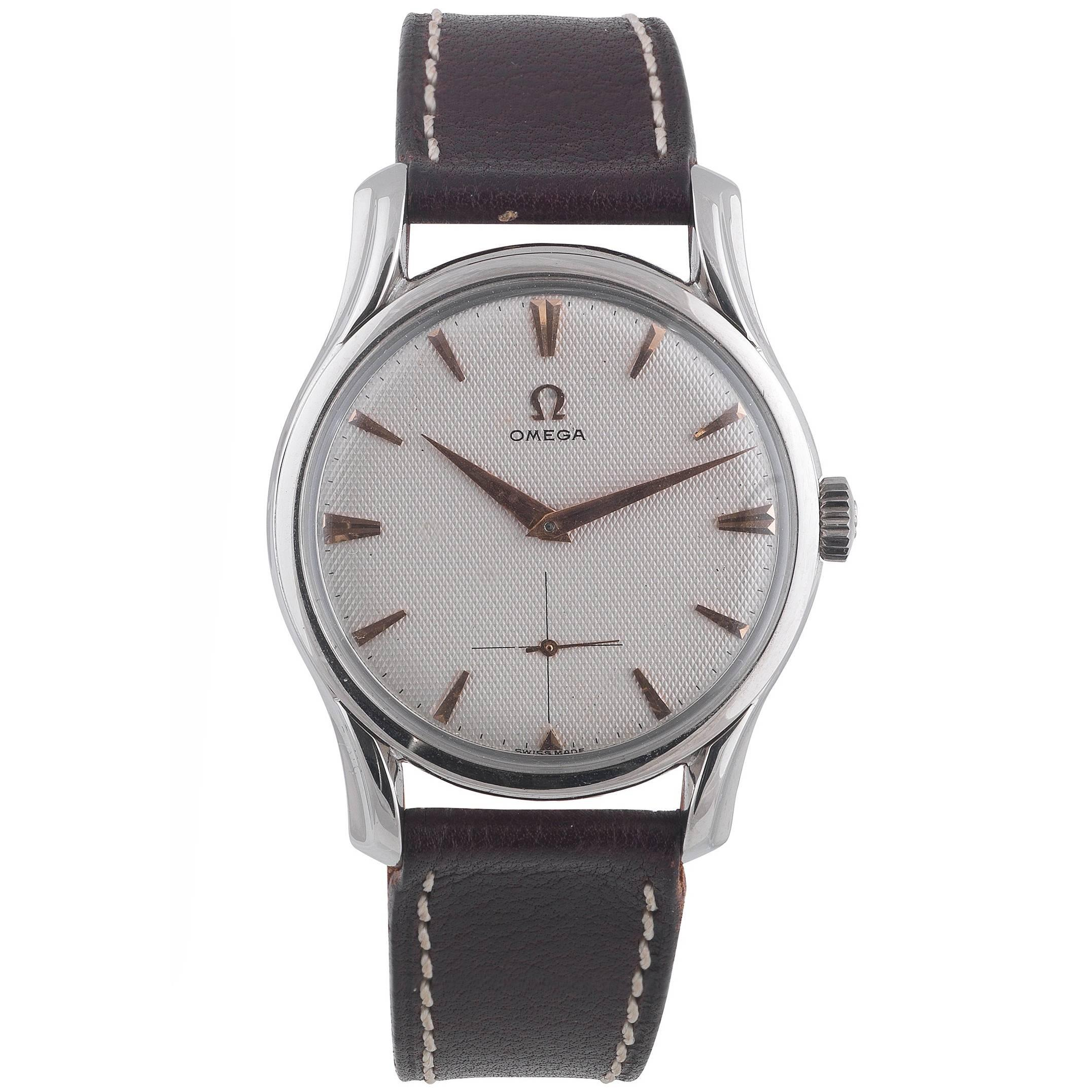 1950s watches 284 for sale at 1stdibs rh 1stdibs com Omega Alarms Homepage Omega Alarms Homepage