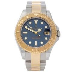 Rolex Yacht-Master Stainless Steel and 18 Karat Yellow Gold Ladies 68623