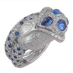 Jahan a Sapphire and Diamond Dress Ring