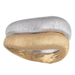 Buccellati Two-Tone Gold Band Ring