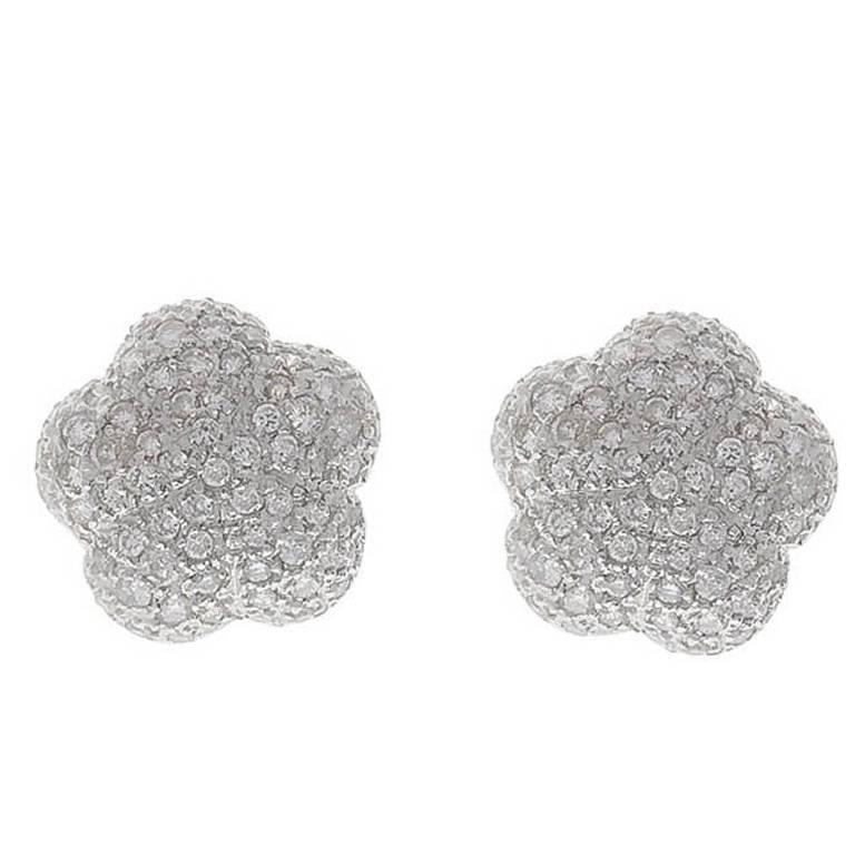 Diamond Pave Set Earring