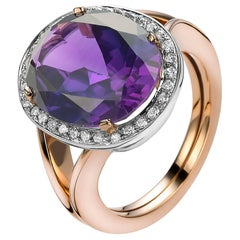 Van der Veken Amethyst Cocktail Ring