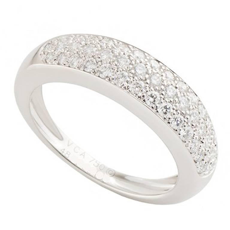 Van Cleef & Arpels Diamond Band Ring