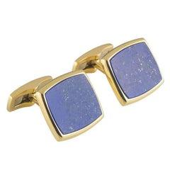 Piaget Lapis Lazuli Cufflinks