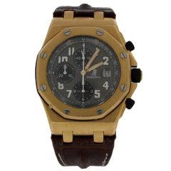 Audemars Piguet Rose Gold Royal Oak Offshore Chronograph Wristwatch, 2008