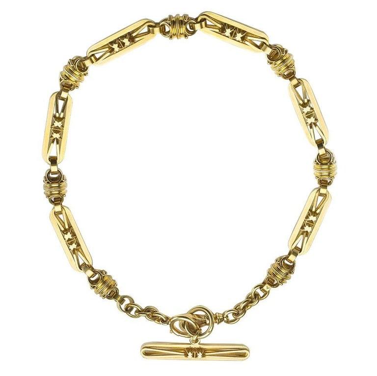 Antique Gold Albert Chain