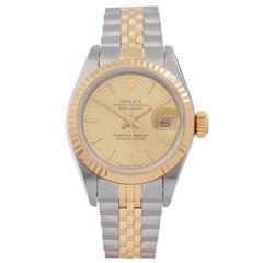 Rolex Datejust 26 Stainless Steel and 18 Karat Yellow Gold Women's 69173