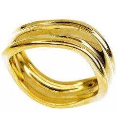 Chaumet 18 Karat Yellow Gold Ring