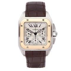 Cartier Santos 100 Chronograph 2740