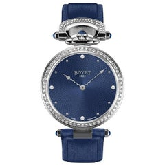 Bovet 1822 Ladies Stainless Steel Diamond Miss Audrey Self Winding Wristwatch
