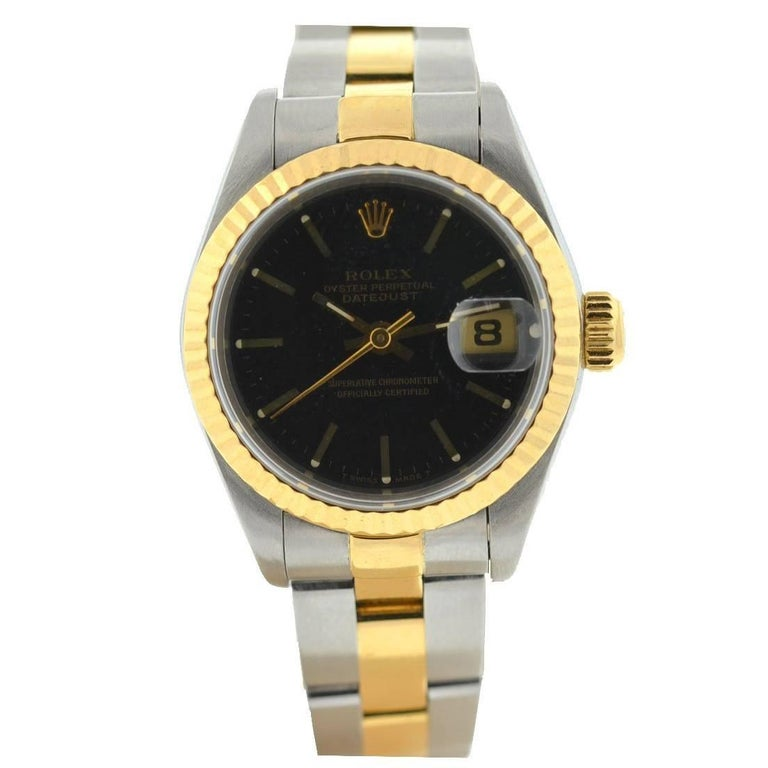 Rolex 69173 Datejust Women's Two-Tone with Box and Papers