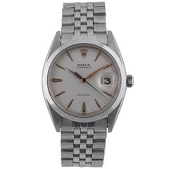 Rolex Stainless Steel Oysterdate Bracelet Manual Wristwatch, Circa 1961 Ref 6694