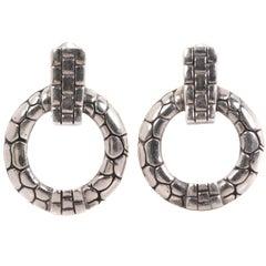 John Hardy Kali Collection Sterling Silver Earrings