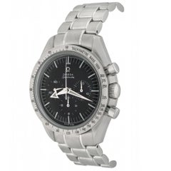 Omega Stainless Steel Speedmaster Broad Arrow Automatic Wristwatch