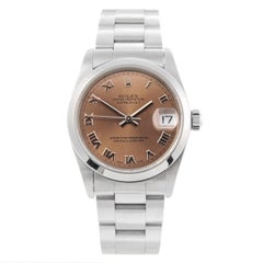 Rolex Stainless steel Oyster Perpetual Datejust automatic Wristwatch Ref 78240