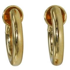 Pomellato Gold Hoop Earclips