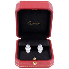 Cartier Diamond Earrings GIA Type IIA