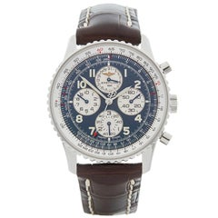 Breitling Stainless Steel Navitimer Automatic Wristwatch Ref A33030