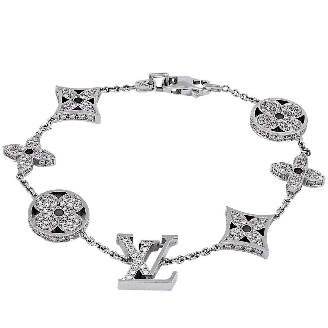 Louis Vuitton Diamond Monogram Bracelet