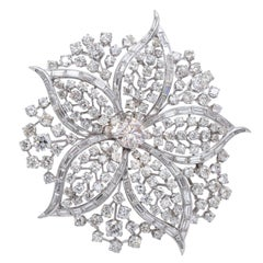 Harry Winston Diamond Brooch