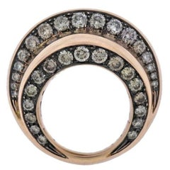 De Grisogono Tubetto Diamond Rose Gold Ring