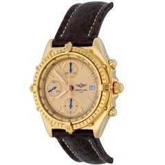 Breitling Yellow Gold Chronomat Automatic Wristwatch Ref K13047X