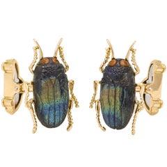 Michael Kanners Beetle Cufflinks