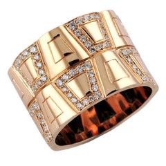 1.23 Carat Diamond 18 Karat Rose Gold Theodora Ring
