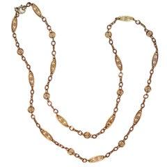 Yellow Gold 18 Karat Necklace