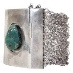 Modernist Scandinavian Silver Bracelet, Anonymous, 1960s