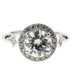 Edwardian Diamond Engagement Ring 'Round'
