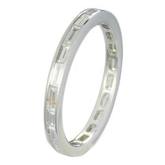 Channel, Set Baguette Diamond Eternity Band
