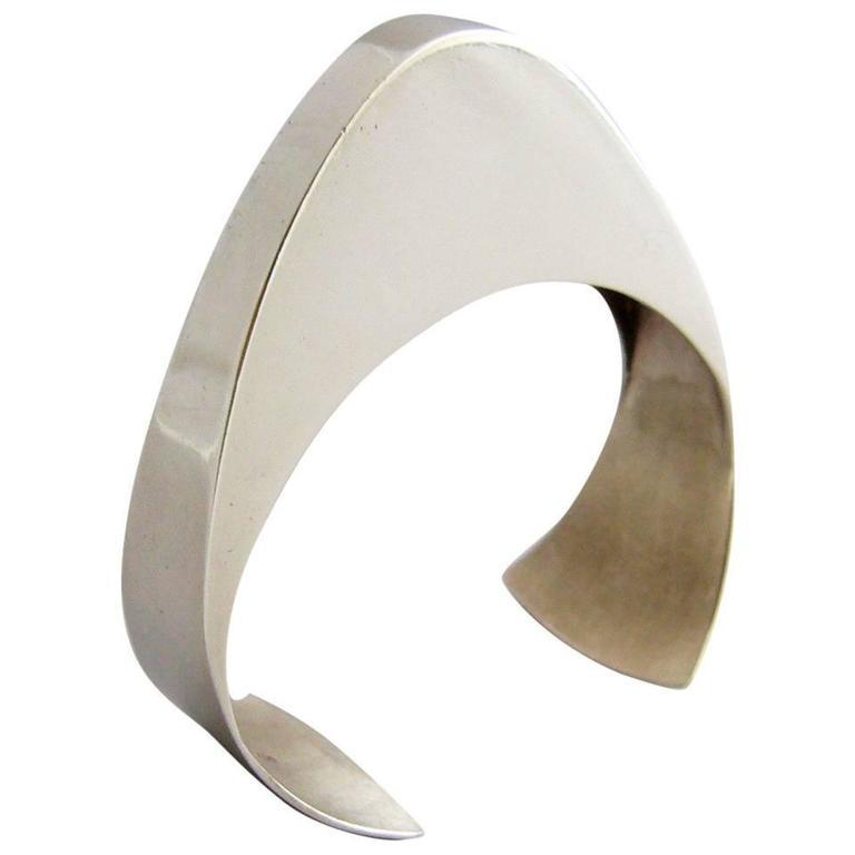 Pekka Piekainen Sterling Silver Finland Scandinavian Bracelet