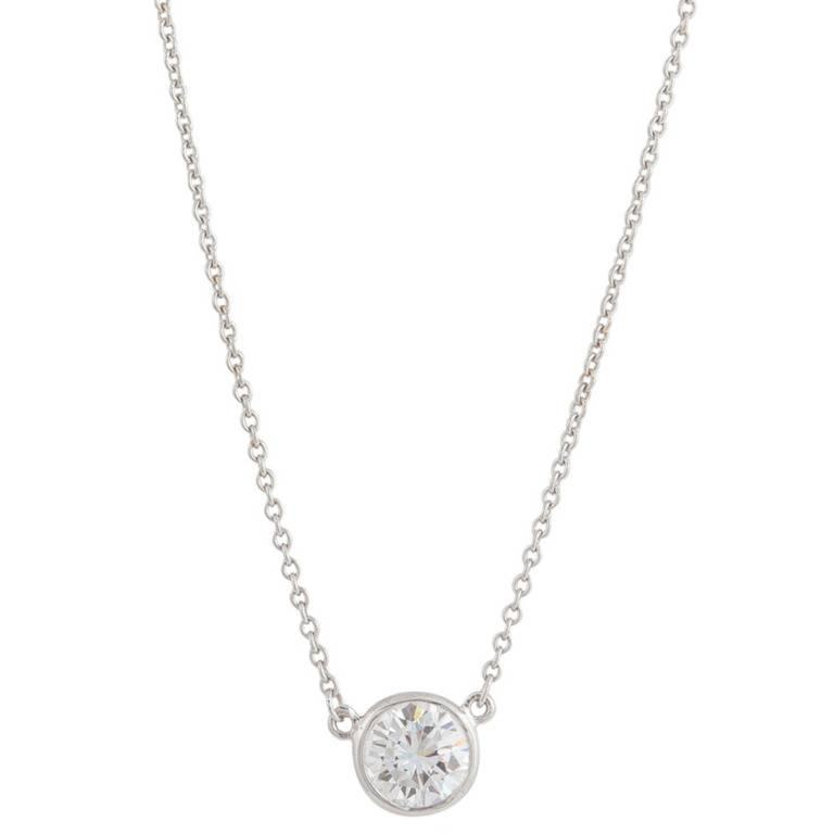 elsa peretti diamonds by the yard necklace review