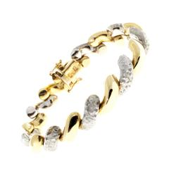 Gold Italian San Marco Bracelet