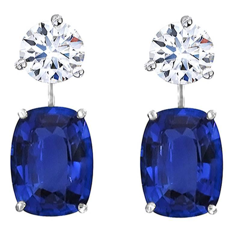 Natural Sapphire Drop Earring Enhancers