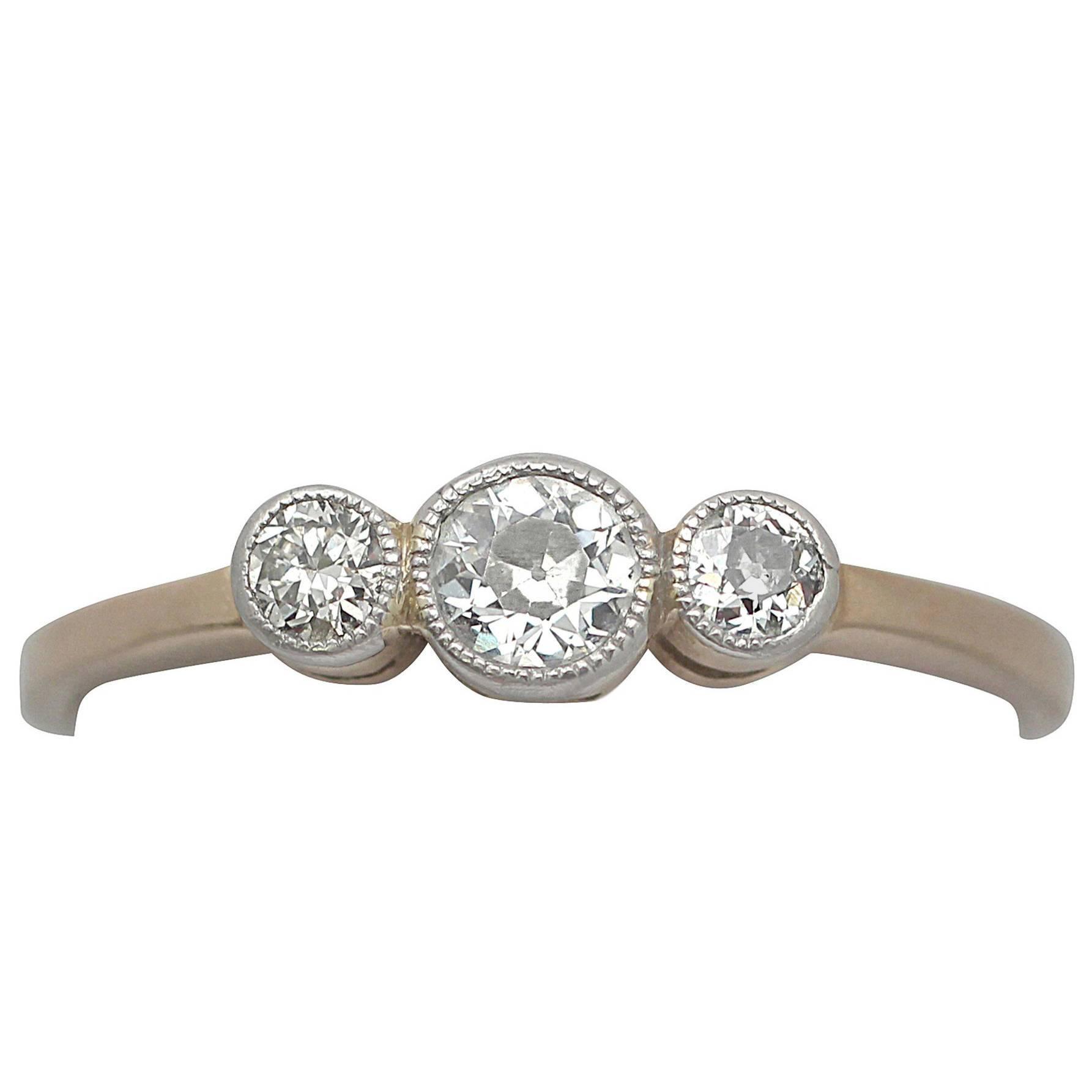 Ring diamant vintage
