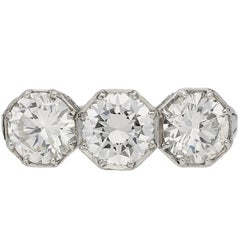 Marcus & Co Three-Stone Diamond Ring