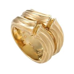 "Cartier Paris Gold ""Bamboo"" Ring"