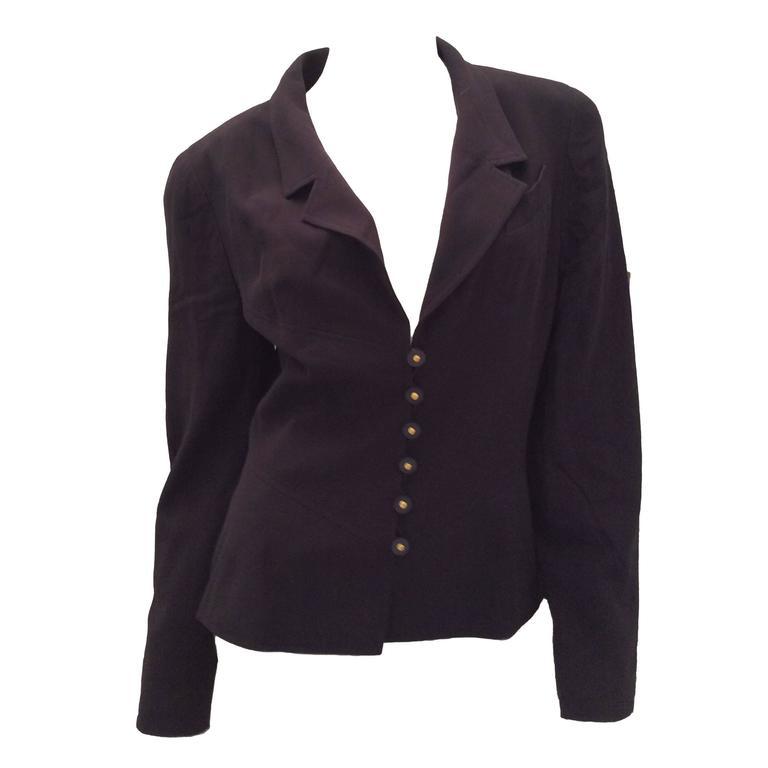 Navy Blue Chanel Jacket